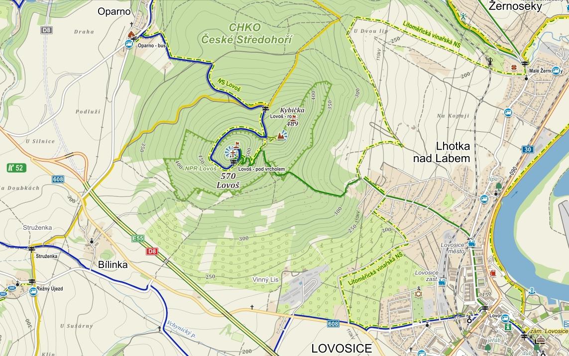 Popis: lovos-mapa2