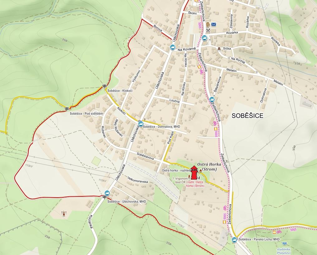 Popis: sobesice-mapa2
